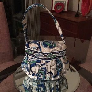 Vera Bradley Bucket Bag 7.5 x 9.5 x 2.25 NWOT!